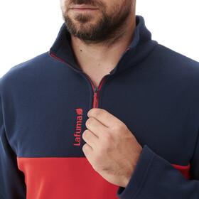 Lafuma Access Micro Half-Zip Jacket Men, vibrant red/eclipse blue